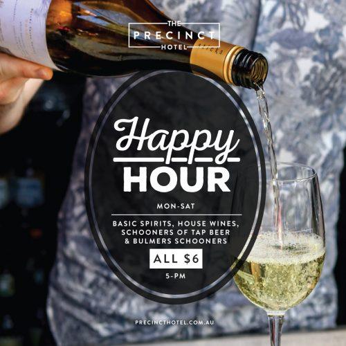ThePrecinctSpecials-MonSat-Happy-Hour